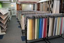 メルセ・ショールームでは、サンゲツカーテンをはじめ各メーカーの最新デザイン、最新機能のカーテンを常時3,000点展示